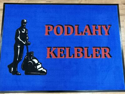 Logová rohož pro našeho velmi dobrého zákazníka pana Kelblera v Dačicích jsme dodávali v původní kvalitě 198 Logo Superior.
