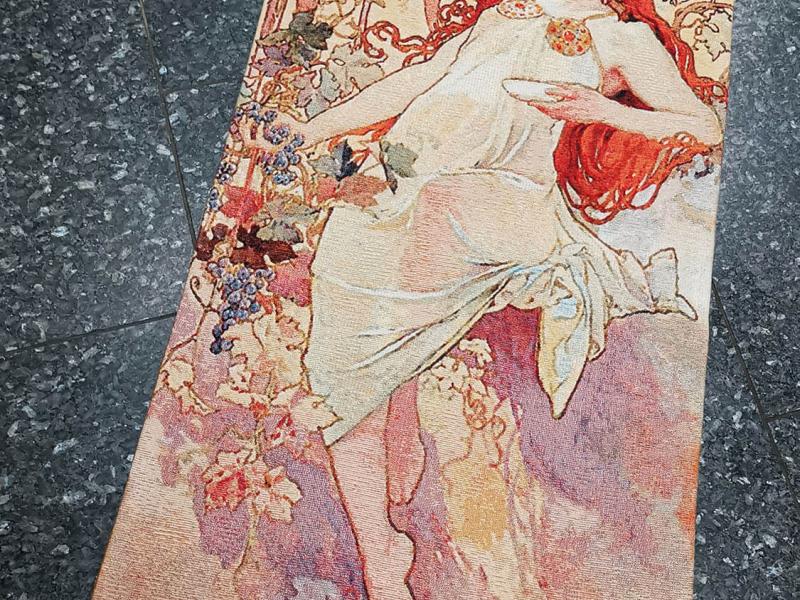 Alfons Mucha - Podzim (Automn)