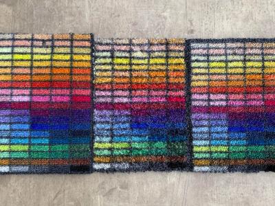 Nabídka logových rohoží Notrax (zleva): 193 Standard - 190 Washable - 199 Imperial