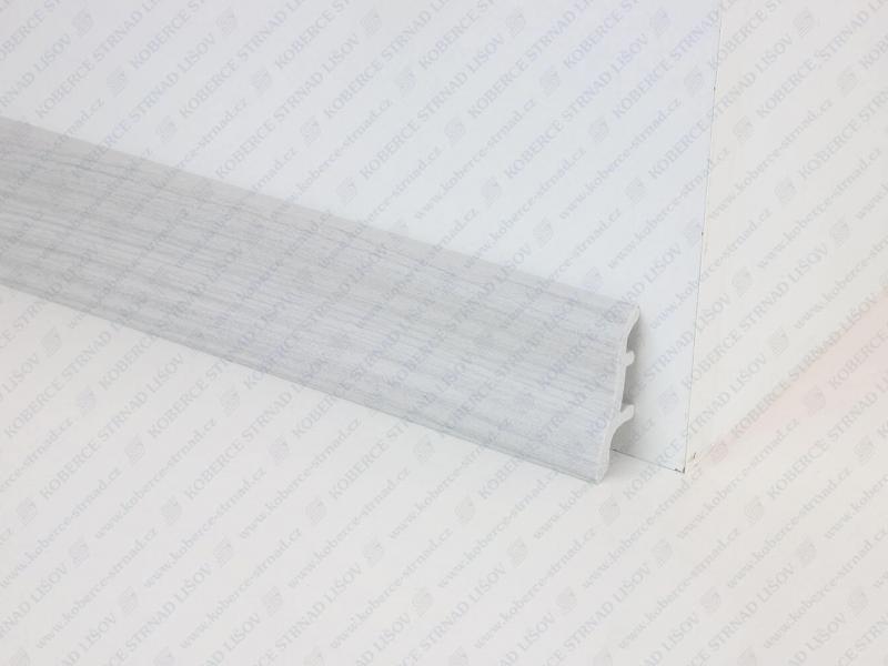 Soklová lišta USL 50 barva 41 jasan šedý