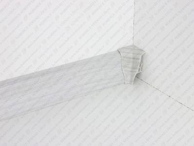 Soklová lišta USL 50 barva 41 jasan šedý + vnitřní roh (kout)