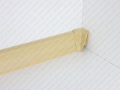 Soklová lišta USL 50 barva 58 buk světlý + vnitřní roh (kout)