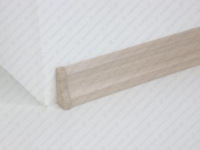 Soklová lišta USL 50 barva W063 šedá písková + ukončení vlevo