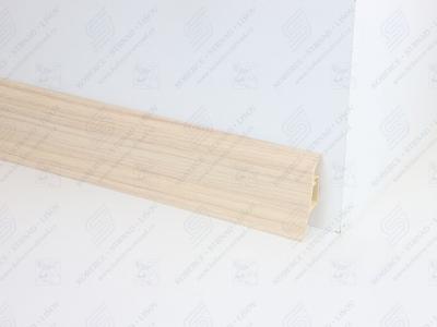 Soklová podlahová lišta Döllken SLK 50 barva W131 jasan krystal