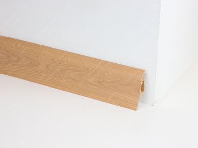 Soklová podlahová lišta Döllken SLK 50 barva W133 třešeň Memphis