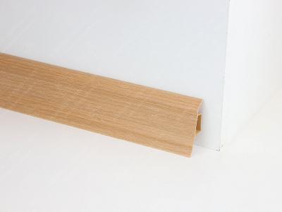 Soklová podlahová lišta Döllken SLK 50 barva W134 buk tmavý