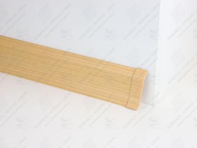 Soklová podlahová lišta Döllken SLK 50 barva W136 buk žlutý + spojka