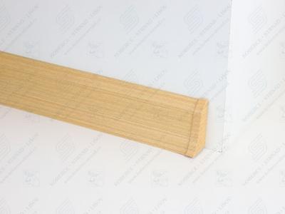 Soklová podlahová lišta Döllken SLK 50 barva W136 buk žlutý + ukončení pravé