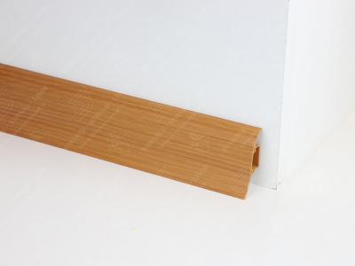 Soklová podlahová lišta Döllken SLK 50 barva W138 třešeň Oxford
