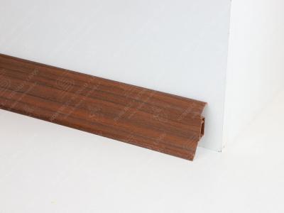 Soklová podlahová lišta Döllken SLK 50 barva W139 ořech