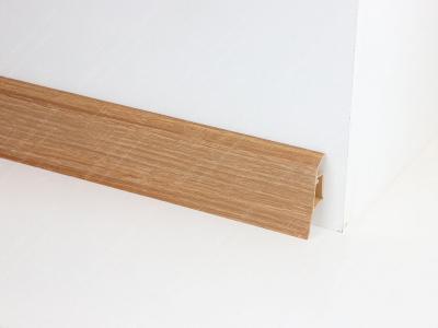 Soklová podlahová lišta Döllken SLK 50 barva W140 ořech přírodní
