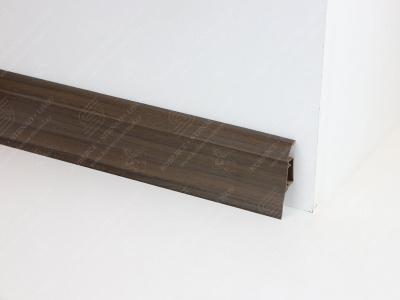 Soklová podlahová lišta Döllken SLK 50 barva W161 akát tmavý
