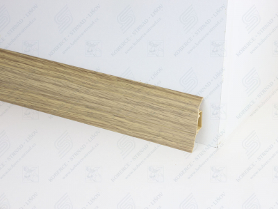 Soklová podlahová lišta Döllken SLK 50 barva W166 dub antik