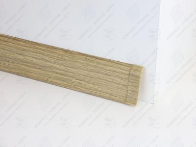 Soklová podlahová lišta Döllken SLK 50 barva W166 dub antik + spojka