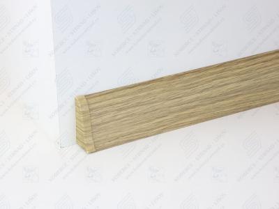 Soklová podlahová lišta Döllken SLK 50 barva W166 dub antik + ukončení levé