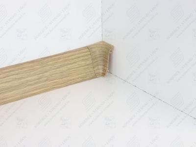 Soklová podlahová lišta Döllken SLK 50 barva W166 dub antik + vnitřní roh (kout)
