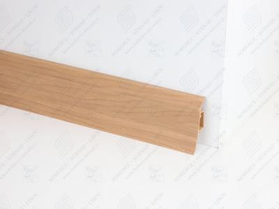 Soklová podlahová lišta Döllken SLK 50 barva W168 ořech orient