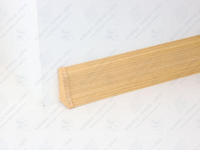 Soklová podlahová lišta Döllken SLK 50 barva W169 buk Corona + ukončení levé