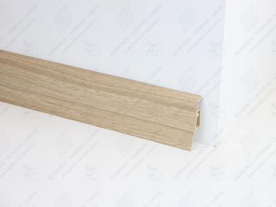 Soklová podlahová lišta Döllken SLK 50 barva W171 dub rustikální