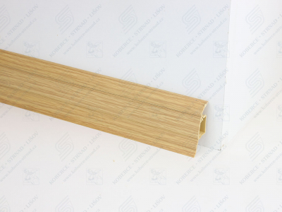 Soklová podlahová lišta Döllken SLK 50 barva W179 dub windsor