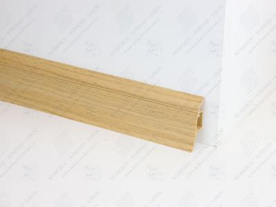 Soklová podlahová lišta Döllken SLK 50 barva W180 dub zlatý