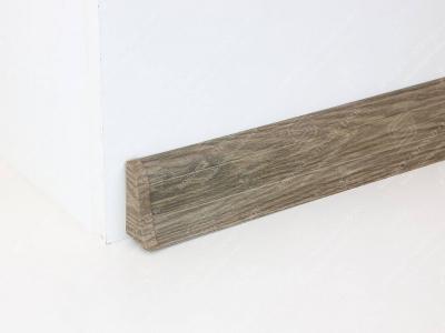 Soklová podlahová lišta Döllken SLK 50 dekor W466 Dub lávový + ukončení levé