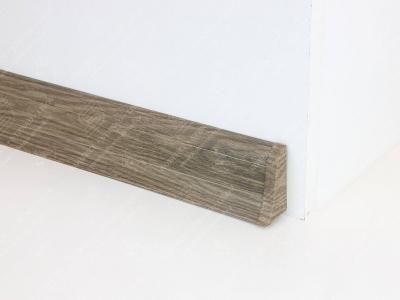 Soklová podlahová lišta Döllken SLK 50 dekor W466 Dub lávový + ukončení pravé