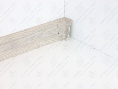 Soklová podlahová lišta Döllken SLK 50 dekor W478 Dub Sardinia + vnitřní roh (kout)