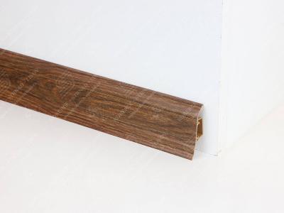Soklová podlahová lišta Döllken SLK 50 dekor W645 Ořech