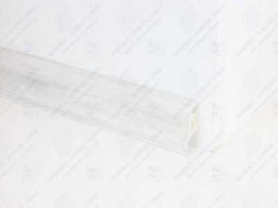 Soklová podlahová lišta Döllken SLK 50 dekor W648 Dub bílý
