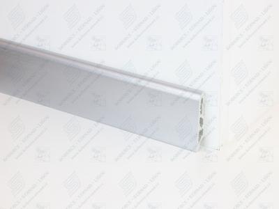 Soklová podlahová lišta Döllken USL 60 dekor 436A alu metallic (hliníková fólie) - nové označení 1436
