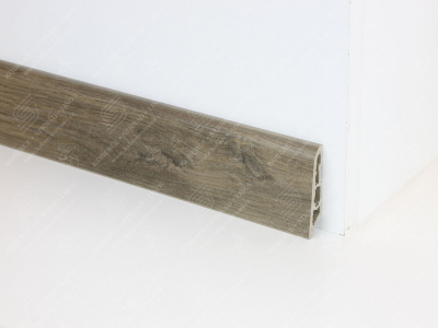 Soklová podlahová lišta Döllken USL 60 dekor 2039 Dub hnědý