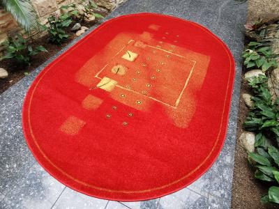 Karetta červený ovál