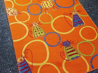 Feline orange (kočky) oranžový