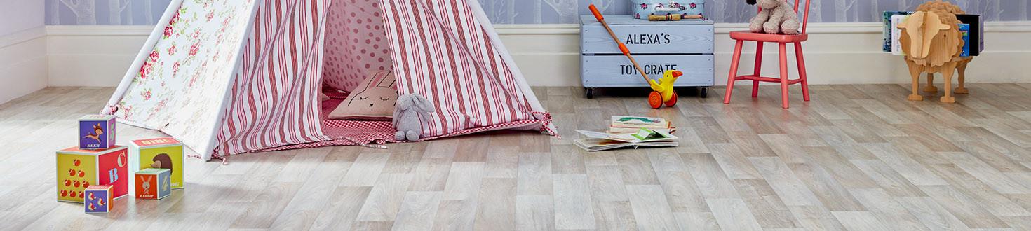 PVC podlahy v rolích