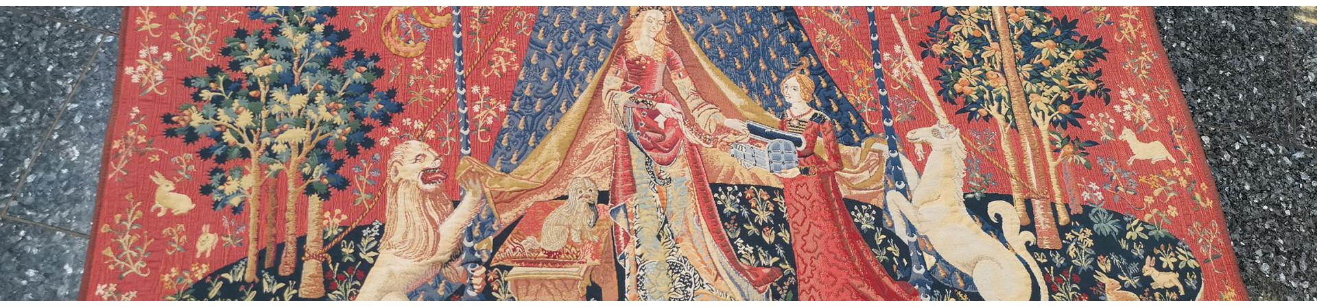 Pravé vlámské gobelíny a tapisérie